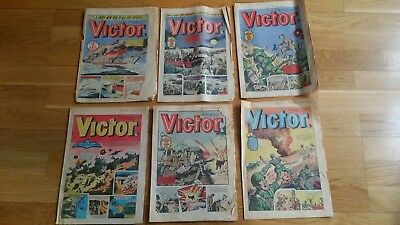 22 vintage Victor Comics 1977 and 1978