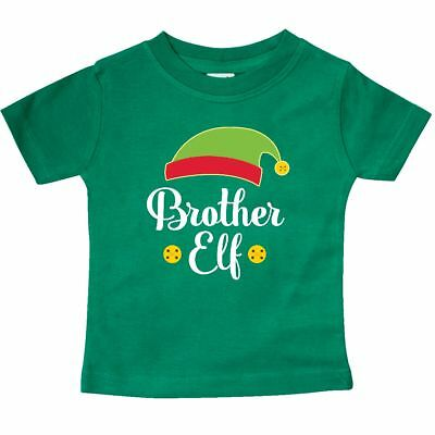 5b89a13e9 Inktastic Christmas Brother Elf Holiday Baby T-Shirt Boys Childs Cute  Clothing