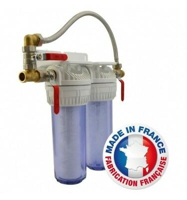 AQUAWATER Station de filtration anti-tartre Bypass 6 mois