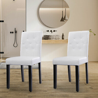Fabulous 2 4 6Pcs Dining Room Chair Kitchen Chairs Set Armless Pine Bralicious Painted Fabric Chair Ideas Braliciousco
