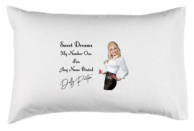 Dolly Parton Personalised Cushion Cover Pillow Case Christmas Gift Kids