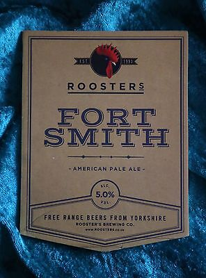 Bar Roosters Fort Smith American Pale Ale Beer Badge Pump Clip Pub Home Bar