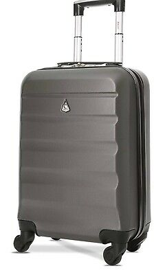 Aerolite Lightweight Abs Hard Shell Travel Carry On Cabin Hand Luggage Suitcase