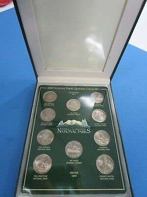 2010 P&D United States Commemorative Gallery National Parks Quarter Collection