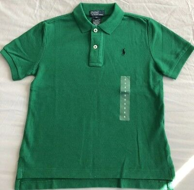 Boys Designer Clothing Age 5 Green Ralph Lauren Polo Shirt BRAND NEW WITH TAGS