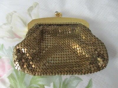 Vintage Park Lane gold mesh purse - Australian made - Preloved condition