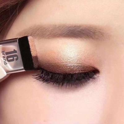 3 seconds eyeshadow makeup double layer coloured gradation cosmetic brush FR