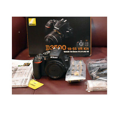 Nikon D3500 AF-P 18-55mm VR f/3.5-5.6G Black Kit (Multi) ship from EU en stock