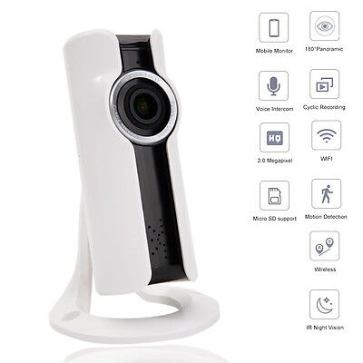 960P HD 1.3MP Wireless WiFi IP Camera Security Home Network Two Way Audio IR-CUT