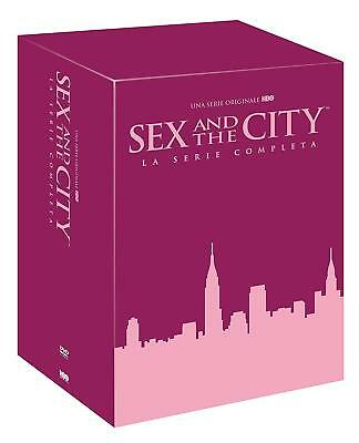Sex And The City - Serie Completa - Stagioni Da 1 A 6 (17 Dvd) Cofanetto Unico,