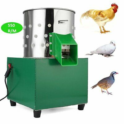220V Small Poultry Plucker Chicken Birds Depilator Dove Feather Plucking Machine