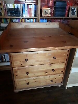 All In One Chest Of Drawers With Baby Changing Table
