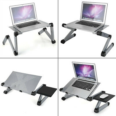 Folding Laptop Desk Computer Table Stand Support Tray Bed Sofa Leisure Table AU