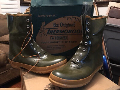 """Converse """"The Original THERMOBOOT"""" all weather boot Vintage NEW size 15D NIB"""