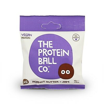 Protein Balls - Peanut Butter & Jam (The Protein Ball Co.) 45g