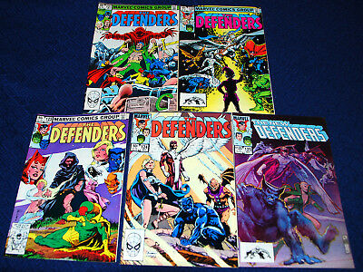 Lot of 10 Defenders 121-130 from Marvel Comics
