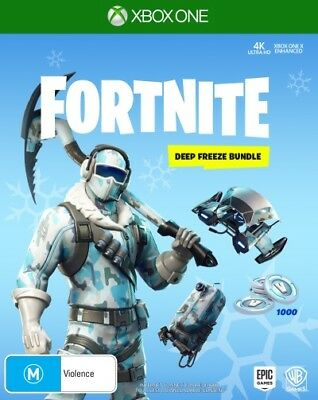 Fortnite Deep Freeze Bundle  - Xbox One game - BRAND NEW