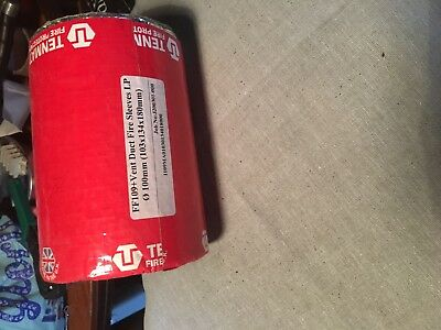 tenmat  125mm vent duct fire sleeves
