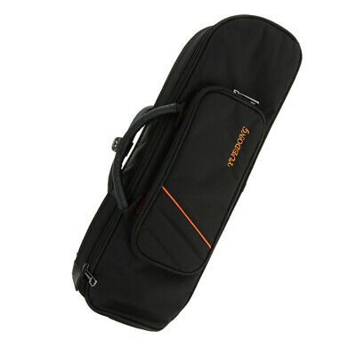 Comfortable Bb Trumpet Padded Case Big Storage Carry Bag for Trumpet Black