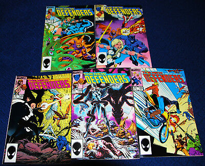 Lot of 13 Defenders 141-152 + Annual 1 from Marvel Comics