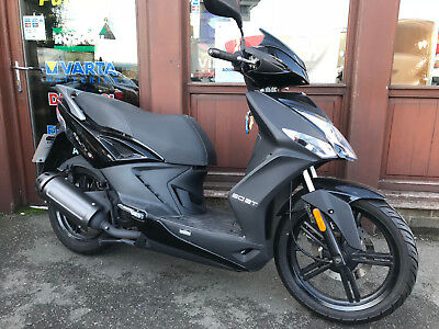Kymco Agility City 16+ 2017, ONLY 951 miles, 50cc automatic scooter, Warranty