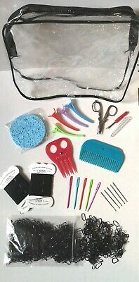 Complete Bespoke Horse Plaiting Kit- ALL COLOURS-Pony Show Showing Bands Thread