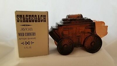 Vintage Avon Stage Coach, NIB Wild Country after shave