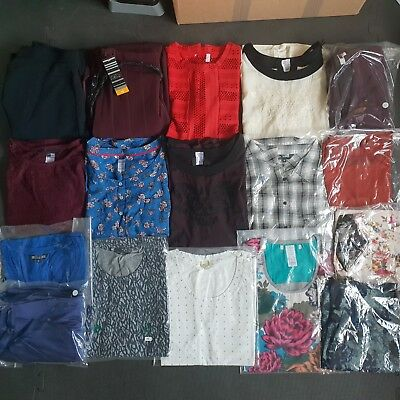 Womens Clothing Bundle Size 10 Job Lot Wholesale Mixed Ladies Clothes 17 Items