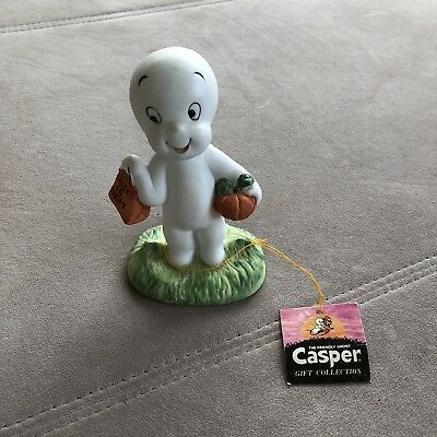 HALLOWEEN FIGURE CASPER THE FRIENDLY GHOST 1986 with tag