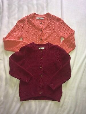 Girls Marks And Spencer Cardigans Size 4-5