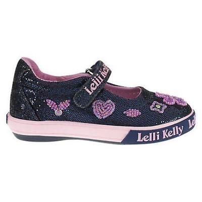 Lelli Kelly Girls/' Dafne Cute Flats Shoes,LK6464,purple Glitter,Size US 5,EUR 20