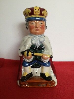 Staffordshire Fine Ceramics The King Toby /character Jug