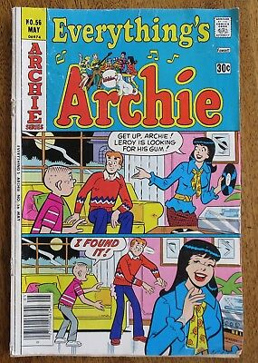Everything's Archie #56 1977 Good condition... Vintage!