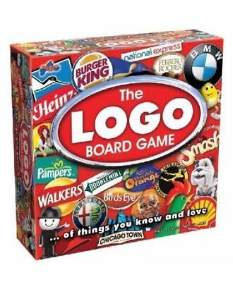 The Logo Board Game by Drummond Park  2-6 Players Ages 12+  Brand New & Sealed