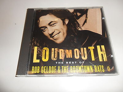 Cd   The Boomtown Rats /  Bob Geldof  ‎– Loudmouth The Best Of Bob Geldof & The