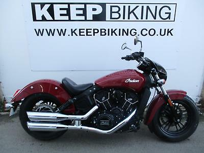 2017 INDIAN SCOUT SIXTY 1000cc ABS 3520 MILES. FULL SERVICE HISTORY.
