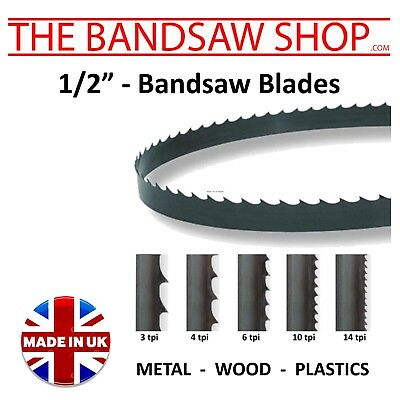 """1/2"""" (12mm) Carbon Bandsaw blades made to any length"""