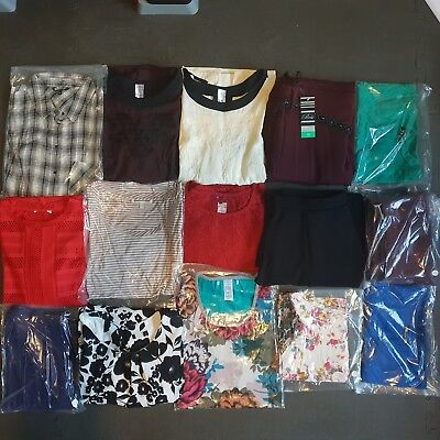 Womens Clothing Bundle Size 12 Job Lot Wholesale Mixed Ladies Clothes 15 Items