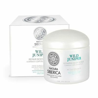 Natura Siberica Copenhagen Wild Juniper Repair Body Scrub 370 ml