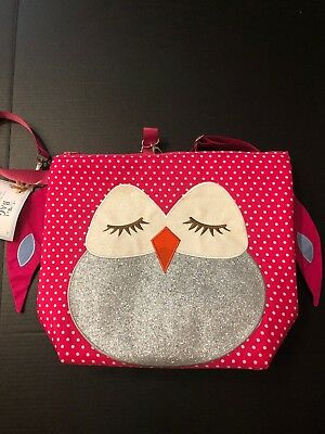 Buggygear My First Buddies Collection Wet-bag & Backpack-Owl NWT
