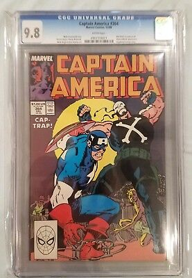 CGC 9.8 White Pages Captain America #364 Great Crossbones Cover