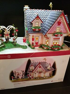 Department Dept 56 Hearts And Blooms Cottage Snow Village Mib