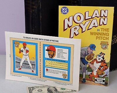 Nolan Ryan Ozzie Smith SPORTS COMICS Sports Illustrated 92 DC Tony Tiger noR 01