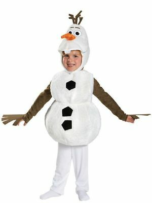 Disney Frozen Olaf Deluxe Toddler Costume - M 3T-4T FREE SHIPPING