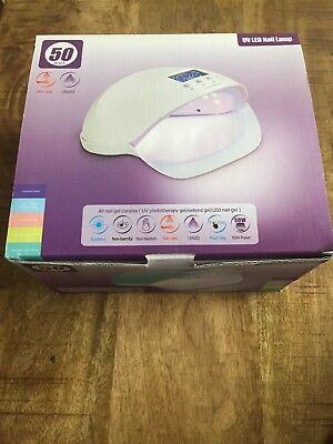 UV LED Nail Lamp 50W for nails and toes