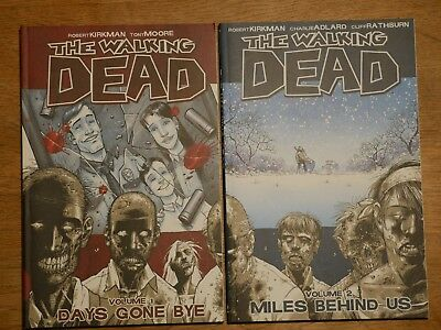 The Walking Dead Comics Volume 1 and 2 - Like New