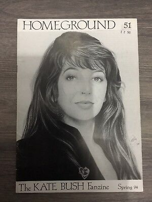 Kate Bush Homeground Magazine  No 51