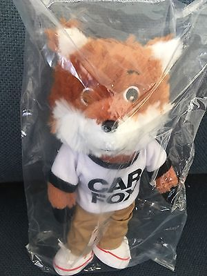 "NEW in Bag - Car Fox Stuffed Plush Fox Carfax. 10"" Promotional Toy NEW FOX"