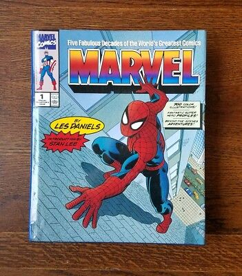 Five Fabulous Decades Of the Worlds Greatest Comics Marvel Hardcover Book