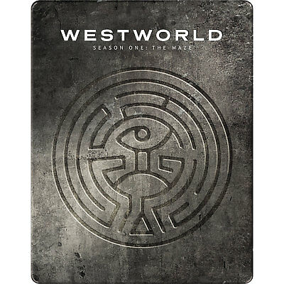 Westworld: Season One - Limited Edition Steelbook [Blu-ray] New and Sealed!!